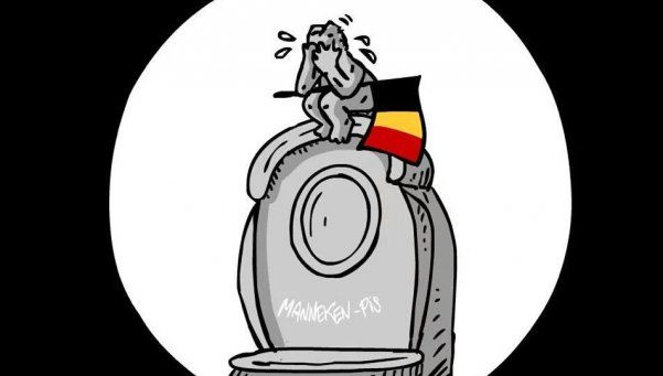Twitter abrazó a Bélgica con el hashtag #JeSuisBruxelles