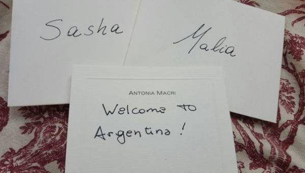 El regalo de Antonia a Sasha y Malia, las hijas de Barack Obama