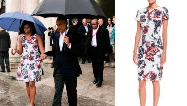 El vestido que usó Michelle Obama en Cuba se agotó