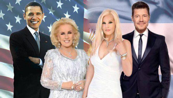 El dream team de famosos argentinos invitados a la cena con Obama