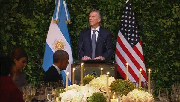 Macri a Obama: Su visita es en el momento perfecto
