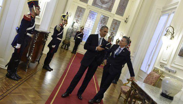 El gobierno celebró el gran respaldo de Barack Obama