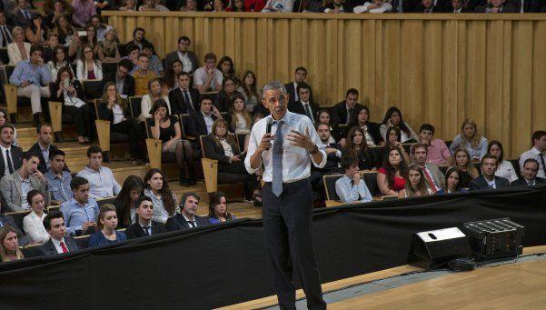 Obama en la Usina del Arte: Queremos ampliar los lazos con capacitación