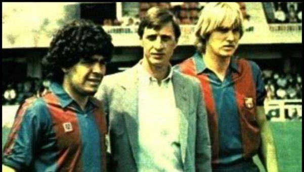 Maradona y Messi despidieron a Cruyff en redes sociales