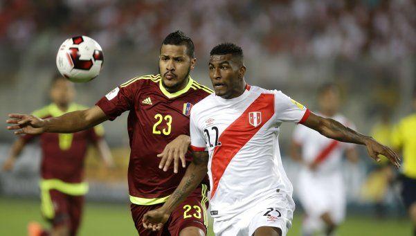 Perú alcanzó un empate sobre la hora ante Venezuela