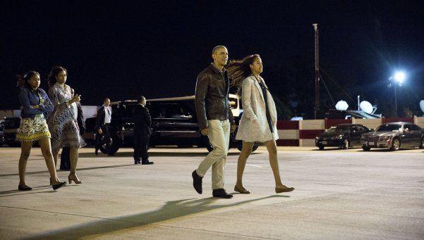 Tras dos días en Argentina, Obama partió a Estados Unidos