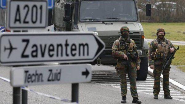 La Policía belga neutralizó a un sospechoso de los atentados