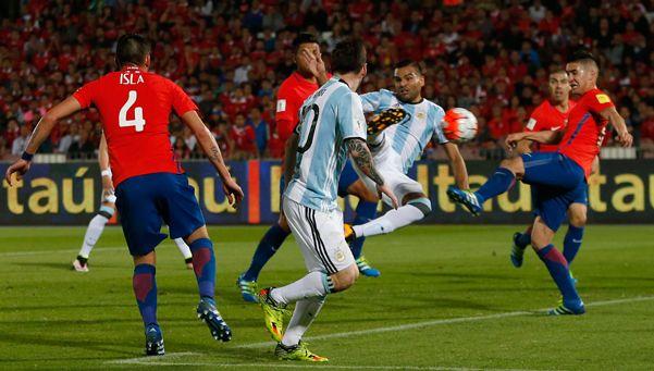 Vilouta lo hizo de nuevo: imperdible relato del gol de Mercado