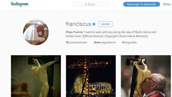 Francisco ya superó los 2 millones de seguidores en Instagram