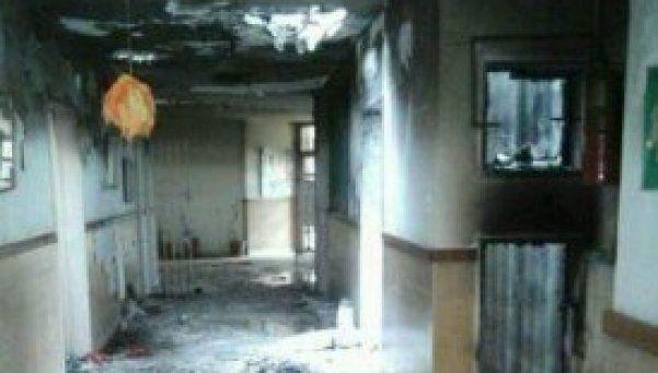 Horror en González Catán: robaron e incendiaron un jardín de infantes