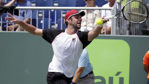 Zeballos venció a Verdasco y se metió en octavos del Masters de Miami