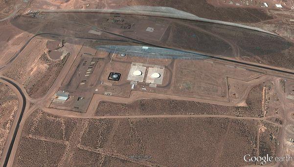 Descubren un OVNI por Google Earth