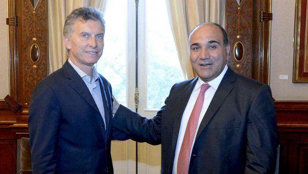 Macri recibió a Manzur para hablar del Bicentenario
