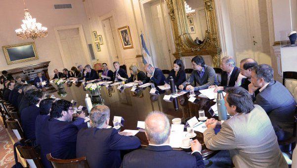 Macri encabeza nueva reunión de Gabinete en la Rosada