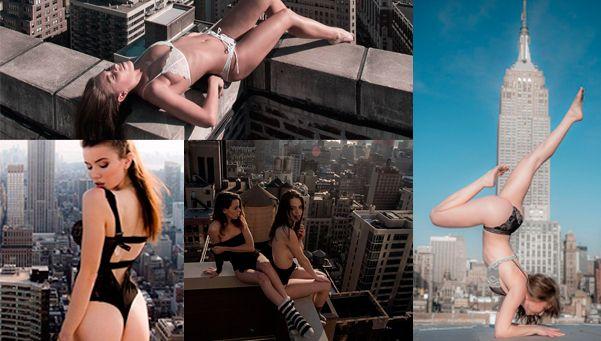 Fotos   Belleza y riesgo en los rascacielos de New York