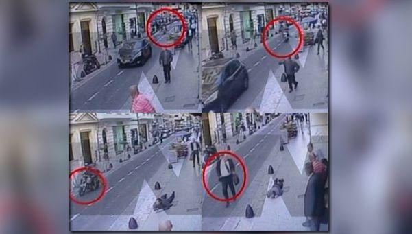 Video | Así fue el momento en que el abogado mató a un inocente