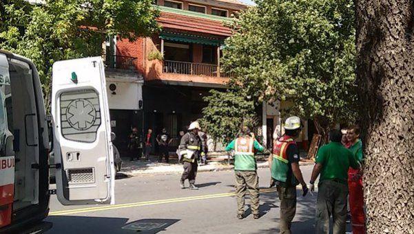 Explotó un depósito en Villa Ortúzar: hay tres heridos