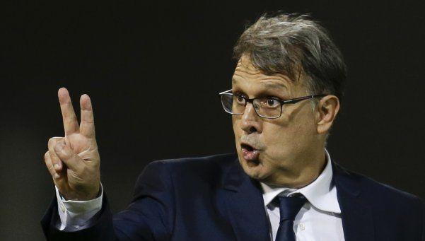 Martino: Los jugadores saben que no alcanza con jugar la final