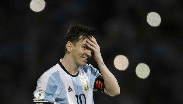 La deuda de Messi