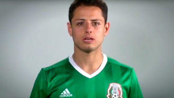 Los jugadores de México, contra la homofobia en los estadios