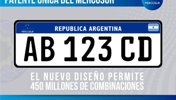 """A partir de abril, entra en vigencia la """"Patente Mercosur"""""""