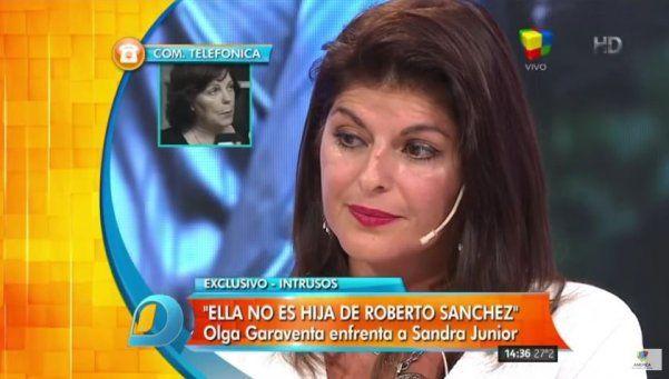 Sandra Borda y Olga Garaventa volvieron a cruzarse en televisión