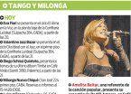 La agenda musical: tango y milonga