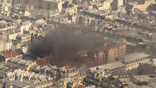 Fuerte explosión en un edificio en París: hay 17 heridos