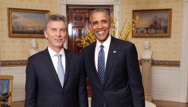 Foto | Macri y Obama en la Casa Blanca