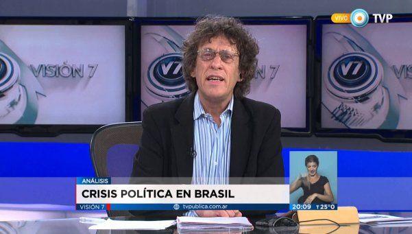 Pedro Brieger confirmó su despido de la TV Pública