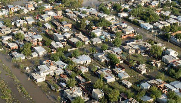 Seis millones de personas residen en zonas inundables