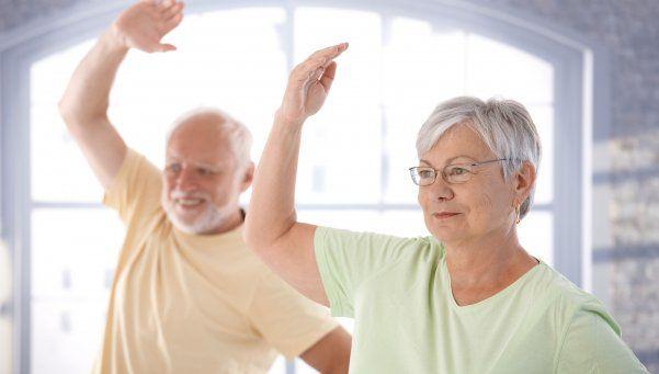Los beneficios de la actividad física en personas mayores