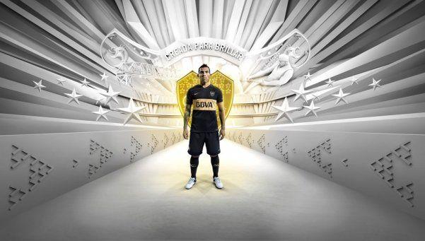 Boca presentó su nueva camiseta para la temporada