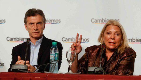 Carrió recomendó a Macri que deje sin efecto los aumentos