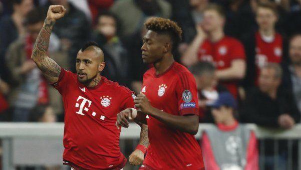 Bayern Münich venció a Benfica pero no cerró la serie