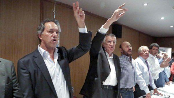 Gioja y Scioli encabezarán la lista de unidad del PJ