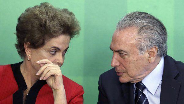 Ordenan el juicio político al vicepresidente de Brasil