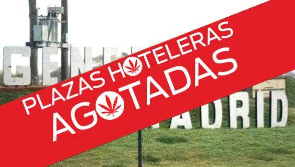 Pueblo colapsado por un seminario sobre marihuana medicinal