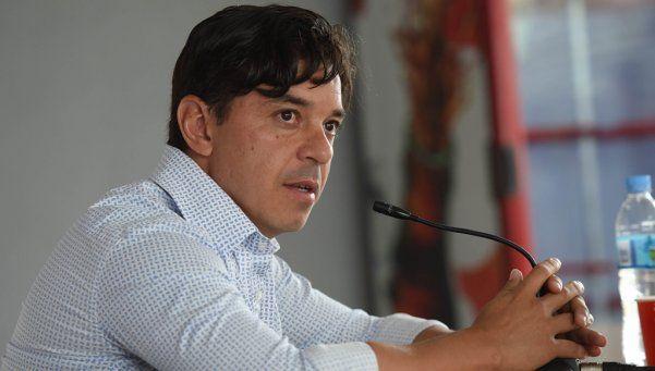 Gallardo guarda titulares para la visita a San Pablo en el Morumbí