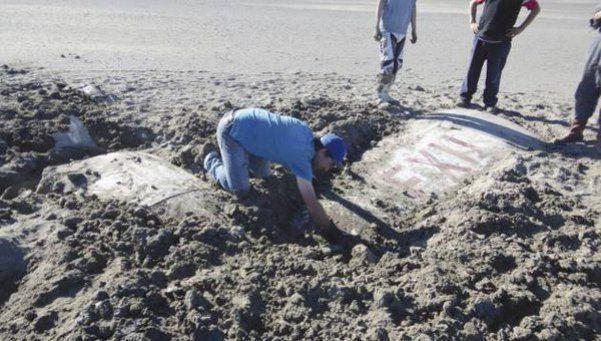 Chubut: encuentran avioneta que había desaparecido en 1964 en el fondo de un lago
