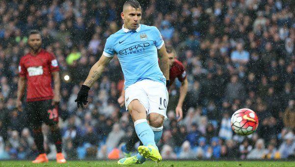 Con un tanto de Agüero, Manchester City venció a West Bromwich