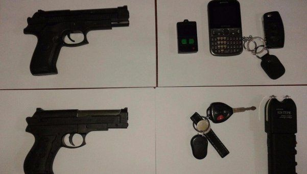 Cae una banda que robaba autos con armas de juguete