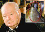 Fantasma de Churchill en el metro de Londres
