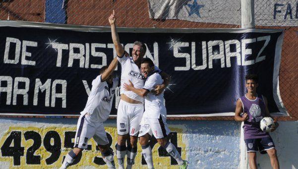 Tristán Suárez: con poder de gol, está arriba desde el cambio de técnico