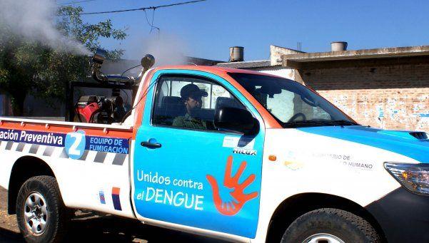Aseguran que el brote de dengue está en retroceso