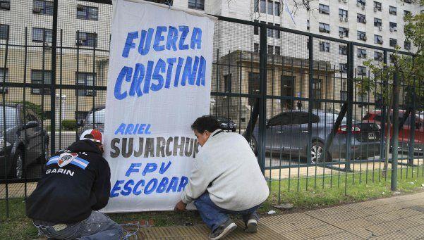 """El """"aguante"""" a Cristina tuvo una gran adhesión"""