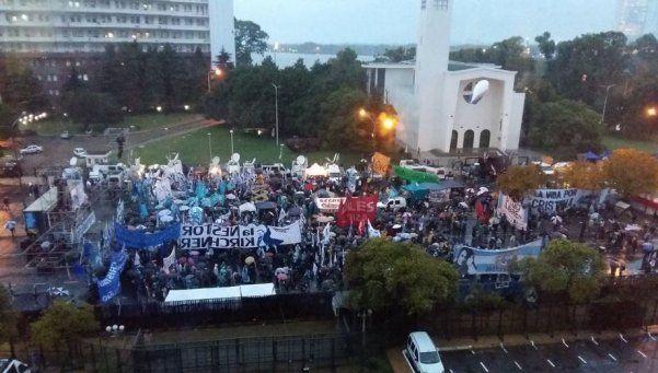 Concentraciones y cortes en la Capital por la indagatoria a Cristina