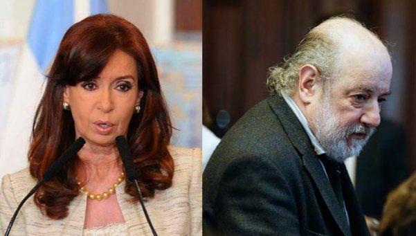 Cristina denunció a Bonadío por mal desempeño en sus funciones