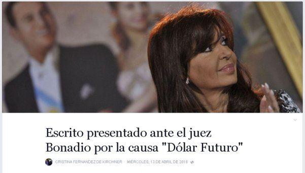 7 fragmentos que CFK le dedicó al Gobierno en su escrito
