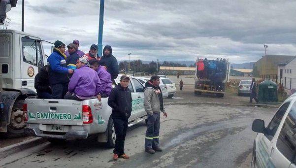 Tierra del Fuego: máxima tensión entre camioneros y estatales